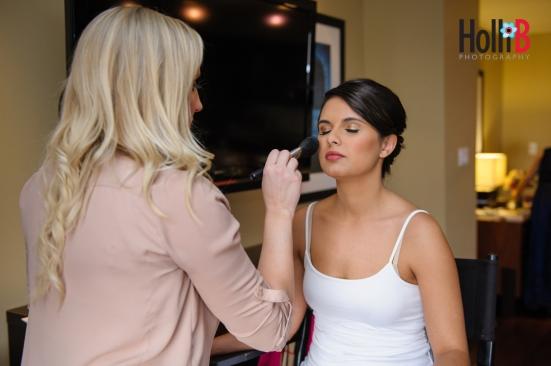 me doing makeup